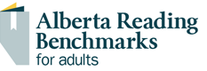 Alberta Reading Benchmarks for Adults